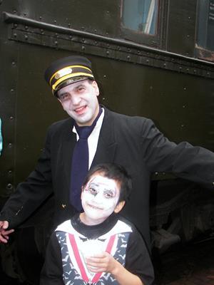 Halloween Storytelling Train